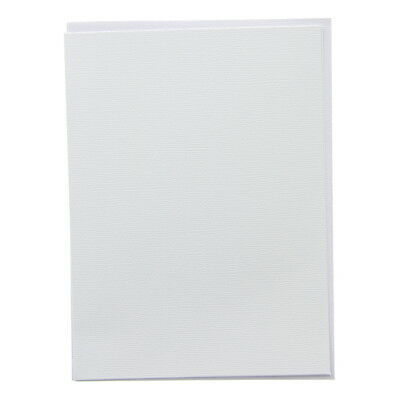 American Crafts A6 Card and Envelope Set - White, Stationery Pack - Scrapbooking