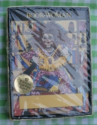 Vintage ANTIOCH 30 Bookplates Book Woman Bookwoman NEW in SEALED BOX Made in USA
