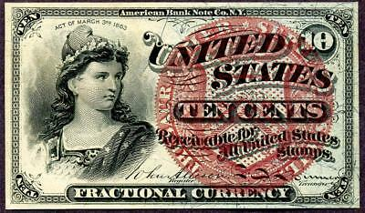 HGR FRIDAY 4th Issue 10cent ((Liberty)) Appears CH - GEM UNCIRCULATED