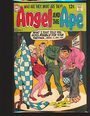 Angel & The Ape # 2 Fine+ Cond.