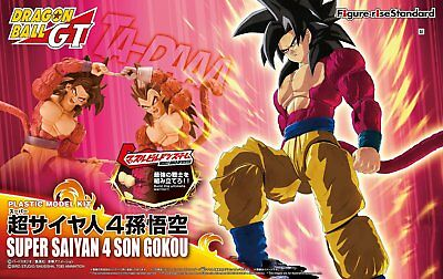 Figure Rise Standard Dragonball GT Super Saiyan 4 Goku model kit Bandai