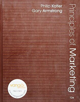 Principles of Marketing: United States Edition by Armstrong, Gary Hardback Book
