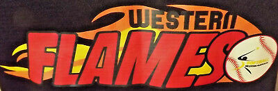 Western Flames Softball Wa Official No 32 Tank Top Like New With Tag  Size 12