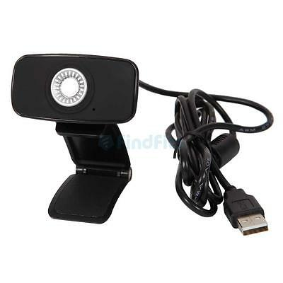New 720P HD 33fps Webcam Computer PC Web Camera Skype with Mic for Laptops PC UK