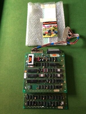Bump n Jump Arcade Data East Pcb Board  No Jamma Original