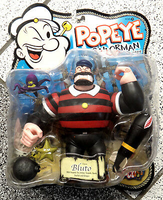 Bluto Mezco Serie Popeye the sailorman Figur OVP