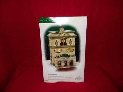 """Department 56 Dickens Village Series """"Piccadilly Gallery"""" #56.58498-MIB"""