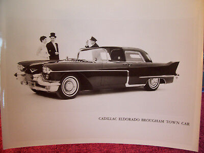 CADILLAC--Eldorado Brougham Town Car B & W Photo