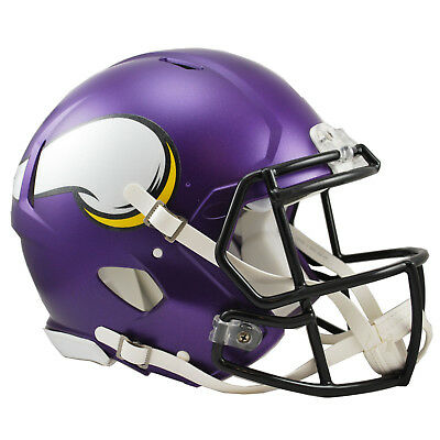 NFL Football Full Size Speed Helm Minnesota Vikings Authentic Footballhelm