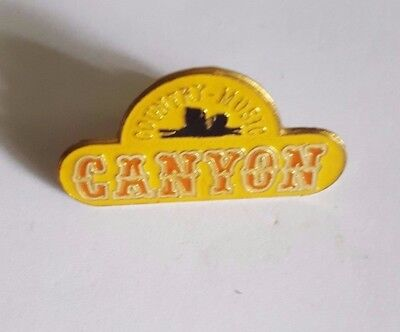 Pin Abzeichen Country Musik Canyon