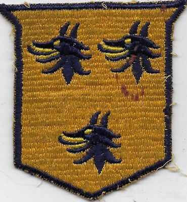 "Rare Original Wwii/kw Era ""unknown Cml Mortar Regt?"" Patch - Fully Embroidered."