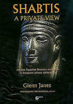 Shabtis: A Private View by Glenn Janes (English) Hardcover Book Free Shipping!