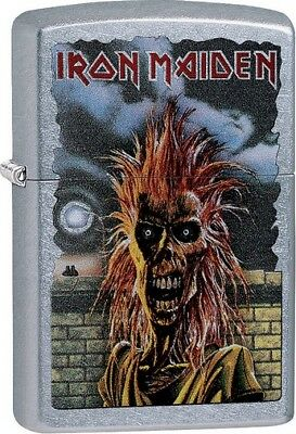 Zippo 012328 Street Chrome Iron Maiden Lighter