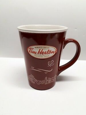 Tim Hortons Ceramic Limited Edition Mug 2010 Cup