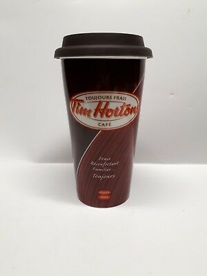 Tim Hortons Ceramic Travel Mug 2011 Cup