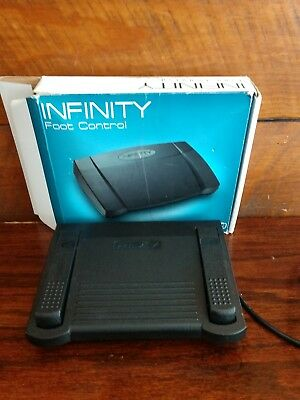 INFINITY IN-USB-1 USB Transcription Foot Pedal Dictation Control