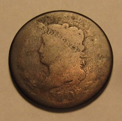 1808 Classic Head Large Cent Penny - Circulated Condition - 39SA