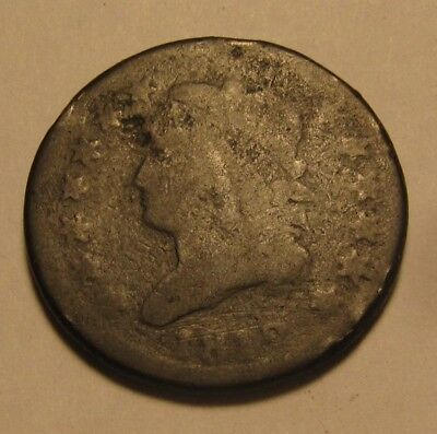 1812 Classic Head Large Cent Penny - Circulated Condition - 42SA