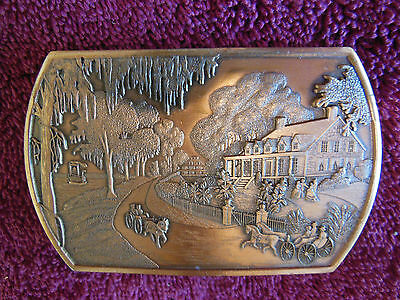 Belt Buckle-Men's-Southern Comfort Corp-Previously Owned-Excellent Condition