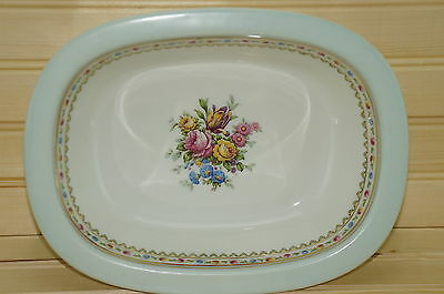 """Raynaud & Co Limoges Oval Vegetable Serving Bowl 9 3/4"""" x 7 3/8"""""""