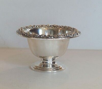 S. Kirk & Son REPOUSSE Sterling Silver Sauce / Candy Dish