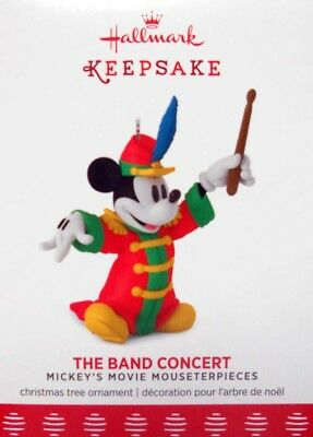 "2017 Hallmark Disney Mickey Ornament ~  ""the Band Concert"" ~ #6 In Series"