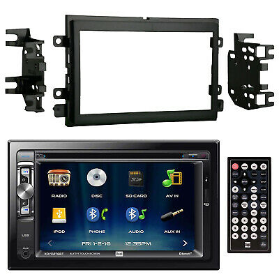 JVC In-Dash Car Stereo Receiver with Metra 95-5812 2-DIN Installation Kit
