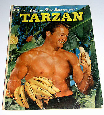 Tarzan #31  Dell Golden Age 1952  - 10 Cent Cover
