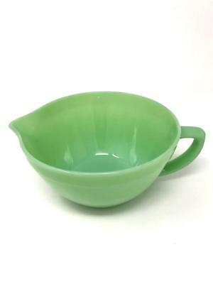 "Vintage Fire King Jadeite Jadite Mixing Batter Bowl 2.5Qt 7.5"" 3/4"" Band USA"