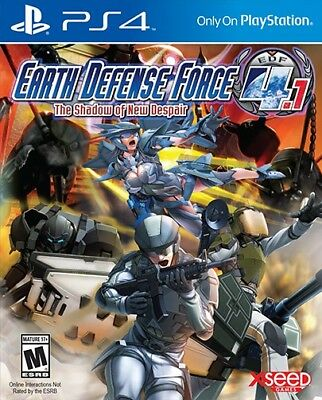 PS4 game - Earth Defense Force 4.1: The Shadow of New Despair (US) (boxed)