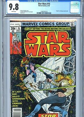 Star Wars #15 CGC 9.8 White Pages Marvel Comics 1978