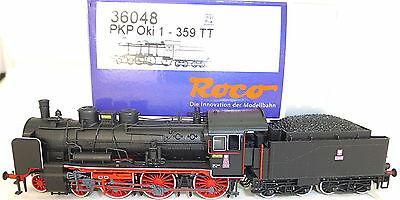 PKP Oki 1 359 STEAM LOCOMOTIVE TRAILING Tender NEM DSS Roco 36048 TT 1:120 NEW