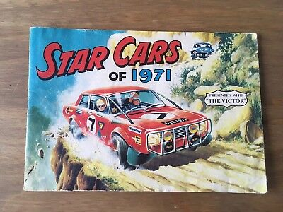Presented with The Victor. Star Cars Of 1971. Album - COMPLETE