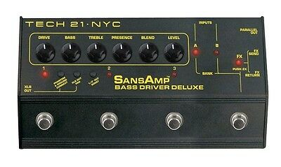 Tech 21 Bass Driver DI Deluxe - SansAmp