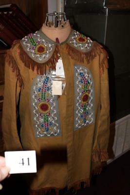 Order Of The Redman BEADED IROQUOIS INDIAN  MOHAWK set LATE 1800s to early1900S