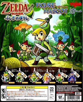 Set of 6 Yujin The Legend of Zelda Mobile Phone Strap figure nintendo gashapon