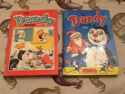 Job Lot / Collection The Dandy Annual / Book 1970 & 1972