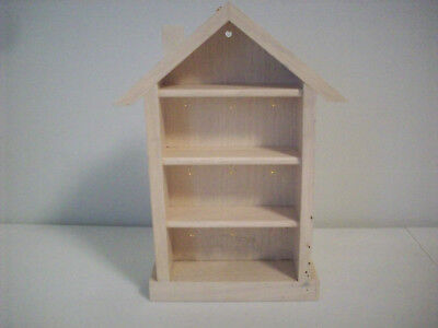Shadow Box Memory House For Hallmark Miniature Ornaments