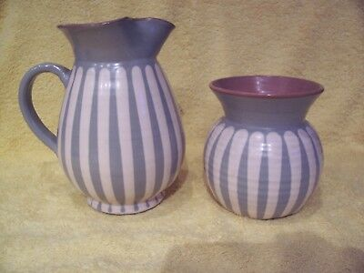 2 Items of Prinknash pottery in excellent condition