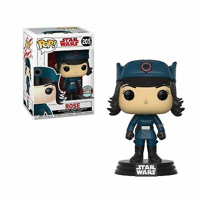 Funko Pop Star Wars Rose In Disguise Specialty Series #205 New In Box #14765