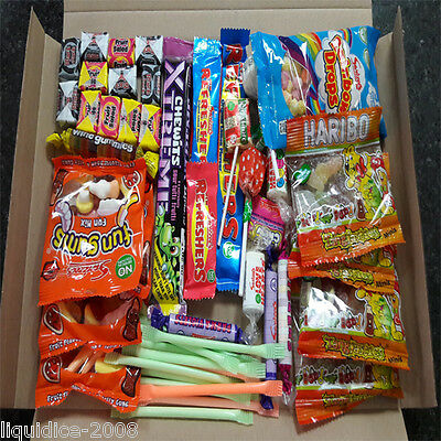 Retro Mix Sweets Gift Box Sweet Hamper Candy Treats  Engagement Wedding Favours