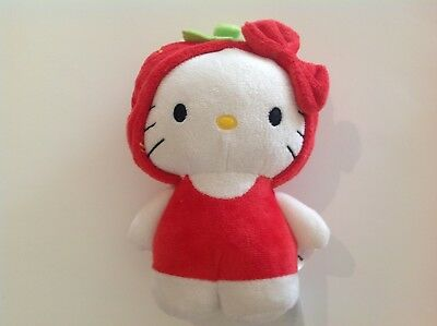 Sanrio Hello Kitty 2011 Strawberry Plush Toy