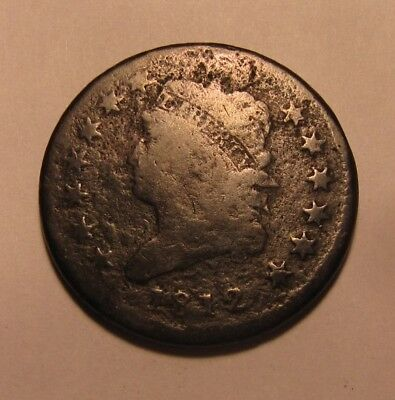 1812 Classic Head Large Cent Penny - Circulated Condition - 73SU