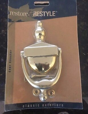 NEW! Solid Brass Door Knocker
