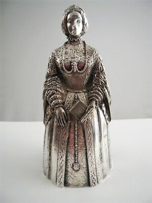 Gorham Bell Silver Over Bronze Women That Changed History Mary Queen of Scots