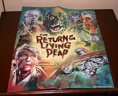 Return of the Living Dead Poster.  Scream Factory.  18x24.  Limited edition.