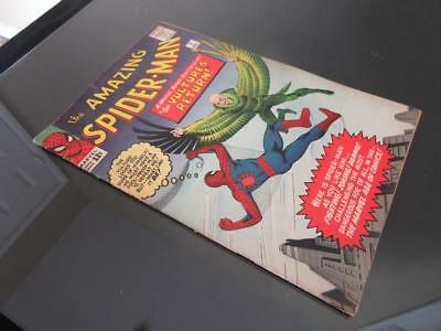 Amazing Spider-Man #7 MARVEL 1963 - HIGHER GRADE - Spidey v.s The Vulture/ cover