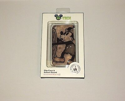 NIB Authentic Disney Mickey Mouse Steamboat Willie D-Tech iPhone Case 3GS