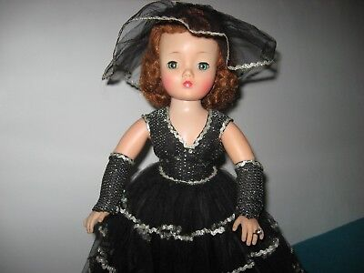 "1950's FABULOUS Evening PARTY DRESS for 20"" Madame Alexander Cissy Doll !!"