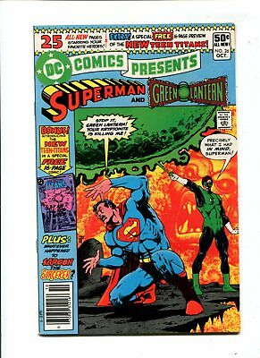 DC Comics Presents #26 VF 8.0 HIGH GRADE Bronze KEY 1st Cyborg Raven Starfire